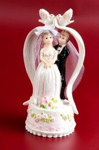 Figurka na tort Para Młoda W BRAMIE