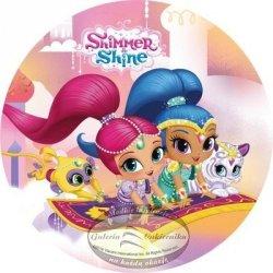 Modecor - Opłatek na tort Shimmer i Shine B