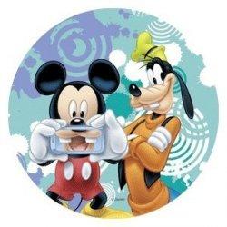 Modecor - opłatek na tort Myszka Mickey i Goofie