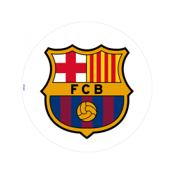 Dekora - opłatek na tort FC Bercelona