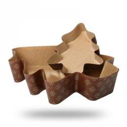 Forma papierowa do pieczenia ciasta CHOINKA mała - 5szt