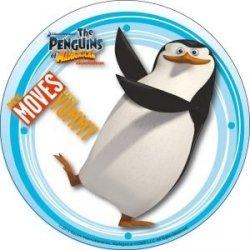 Modecor - opłatek na tort Pingwiny z Madagaskaru B