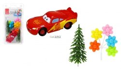 Zestaw do dekoracji tortu figurka Zygzak McQueen Cars