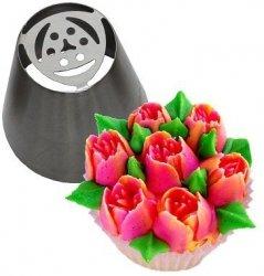Tylka cukiernicza rosyjska stal nierdzewna BNO1 tulipan