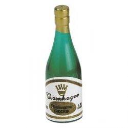 Buteleczki szampana - dekoracja