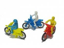 Motor + motocyklista figurka na tort