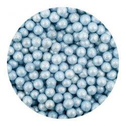Perełki niebieskie nabłyszczane 50 g