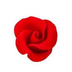 Cukrowe kwiaty MAŁE RÓŻE na tort 22szt. (16 kolorów)