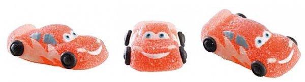 Figurki żelowe na tort wyścigówka samochodzik cars