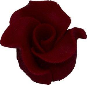 Róże cukrowe MAŁE 22szt bordowe