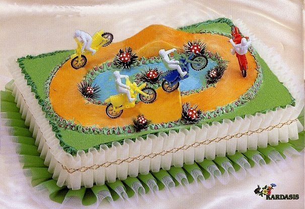 Kardasis - Taśma ozdobna do tortu 95 cm