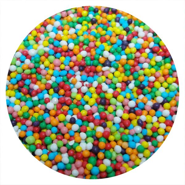Posypka cukrowa MACZEK KOLOROWY na tort deser 50g