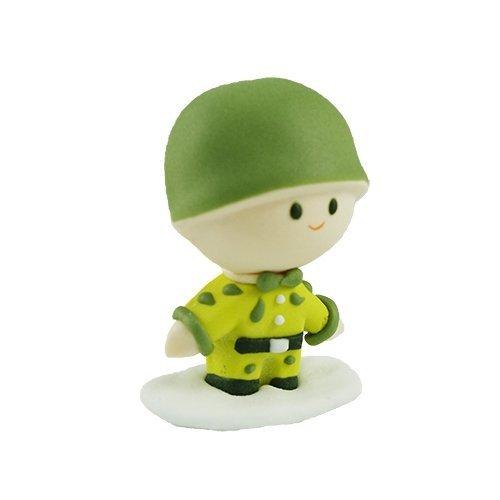 Figurka cukrowa Żołnierz - na tort
