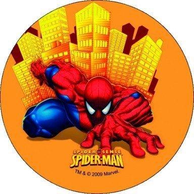 Opłatek na tort okrągły SpiderMan Sense III 14,5 cm