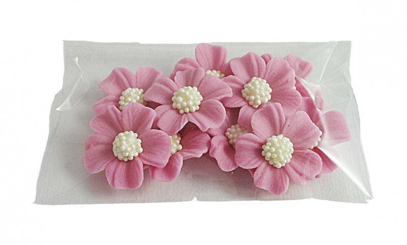 Niezapominajka kwiaty cukrowe 10szt wrzosowe