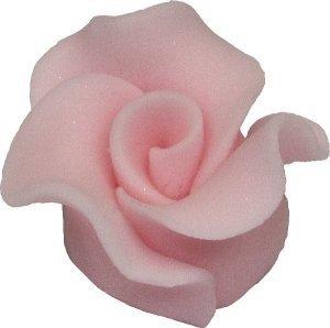 Róże cukrowe MAŁE 22szt różowe