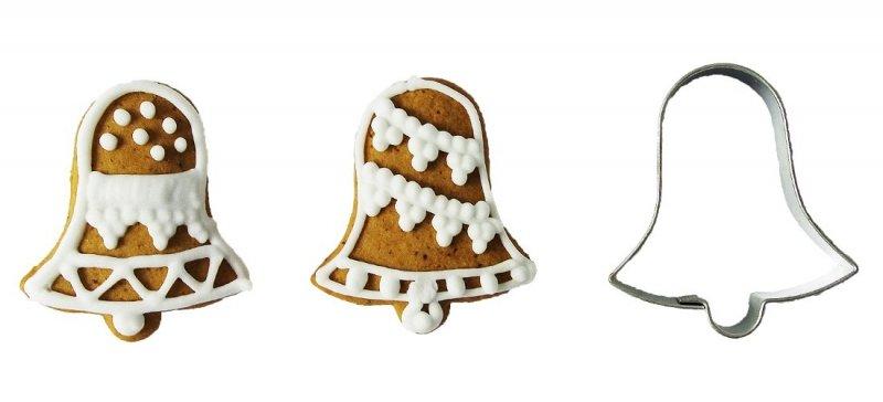 Wykrawacz FOREMKA do ciastek pierników DZWONEK 5,7cm