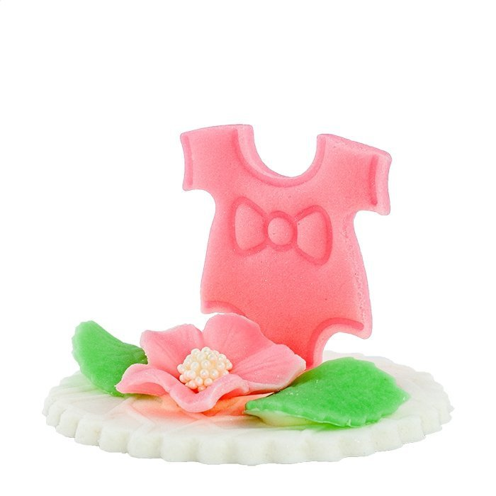 Hokus Dekoracja tortu na chrzest dla dziewczynki