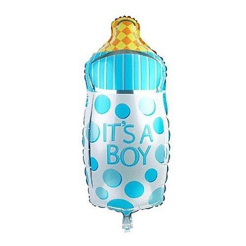 """Balon foliowy - buteleczka - niebieska 14"""""""
