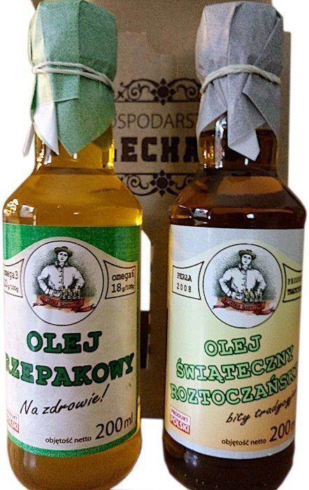 gospodarstwo olechata display dwa oleje