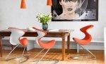 Nowoczesne meble w zwykłym domu