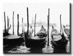 Obraz do salonu - Wenecja, gondole - 120x90 cm