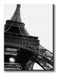 Obraz do salonu - Wieża Eiffel w Paryżu - 90x120 cm