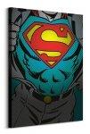 Obraz na płótnie - Dc Comics (Superman Torso) - 80x60cm