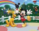Fototapeta dla dzieci - Klub Myszki Miki - 3D - Walltastic - 243,8x304,8 cm