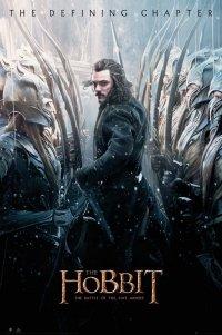 Hobbit Bitwa Pięciu Armii Bard - plakat