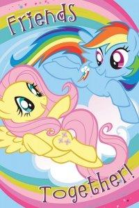 Plakat dla dziewczynki - My Little Pony Friends Together - 61x91,5