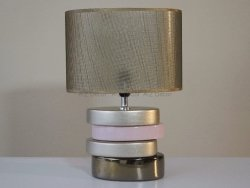 Lampka nocna - Złoto - ALISA  - 26x16x36cm