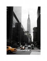 Emipre State Building, Manhattan, New York - reprodukcja