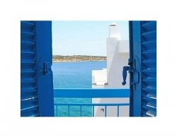 Grecja,  Balkon na Krecie - reprodukcja