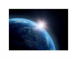 earth and sun - reprodukcja