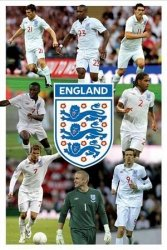 England F.A (8 Player Montage) - plakat