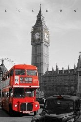 London (Westminster) - plakat