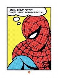 Spider-man (Pop Art) - reprodukcja