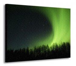Obraz na płótnie - Zorza polarna - 120x90 cm