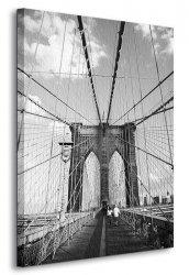 Obraz na ścianę - Brooklyn Bridge, New York - 90x120 cm