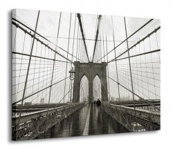 Obraz na płótnie - Brooklyn Bridge - 120x90 cm