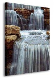 Obraz ścienny - Wodospad - 90x120 cm