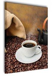 Obraz do kuchni - Młynek do kawy, vintage - 90x120 cm