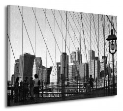 New York Bridge - Obraz na płótnie