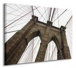 Brooklyn Bridge IV - Obraz na płótnie