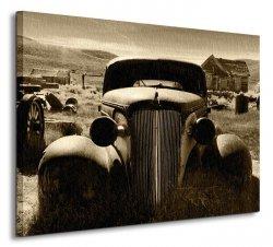 Rusty Car - Obraz na płótnie