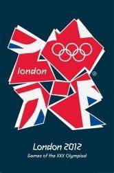 London 2012 Olympics (Flaga Unii) - plakat