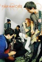 Paramore Live - plakat