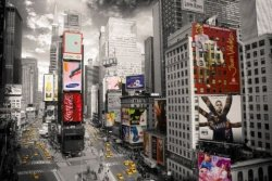 New York Times Square - plakat