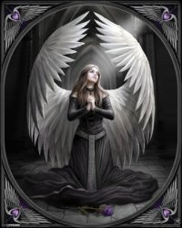 Anne Stokes (Prayer For The Fallen) - plakat